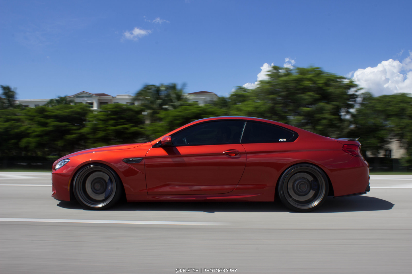 Sakhir Orange M6 And Adv 1 Cs Wheels