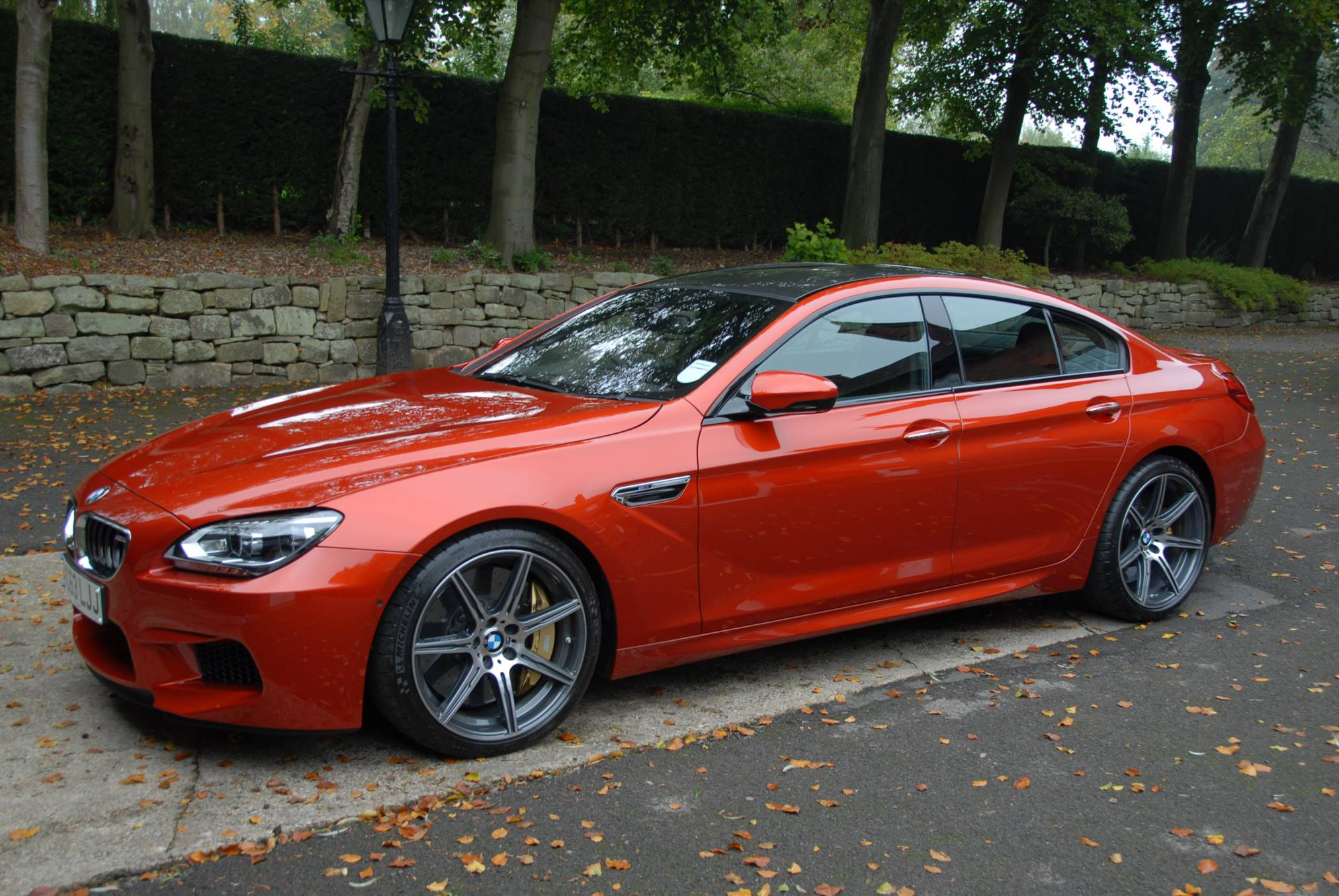 Rare Sight M6 Gran Coup 233 In Sakhir Orange