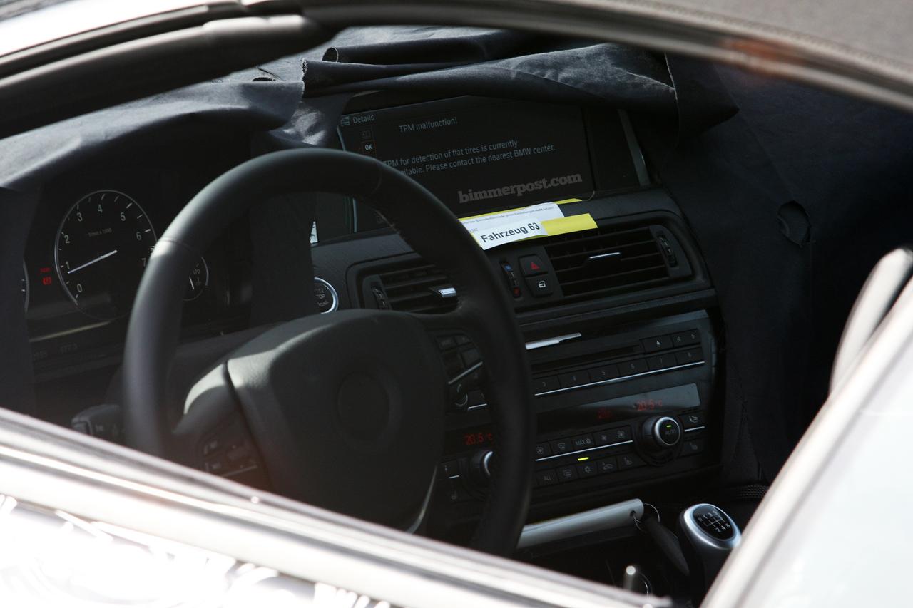 New BMW 6 Series Spy Photos (with interior photos) 5/3/2010