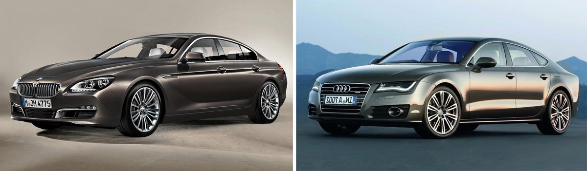 Bmw 6 Series Gran Coupe Or Audi A7 Comparison Photos