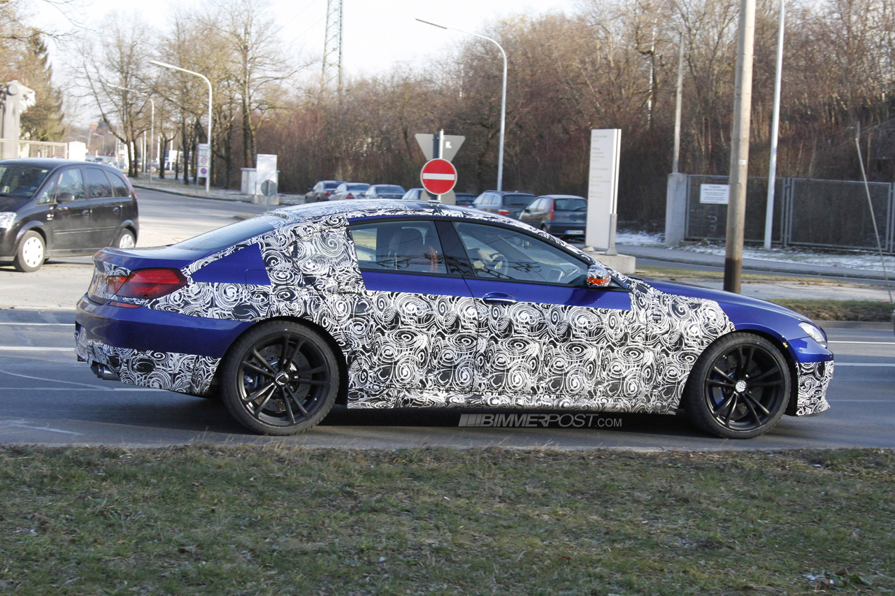 Coupe Series 2013 bmw 325i New Spy Photos: 2013 BMW M6 Gran Coupe in Space Gray