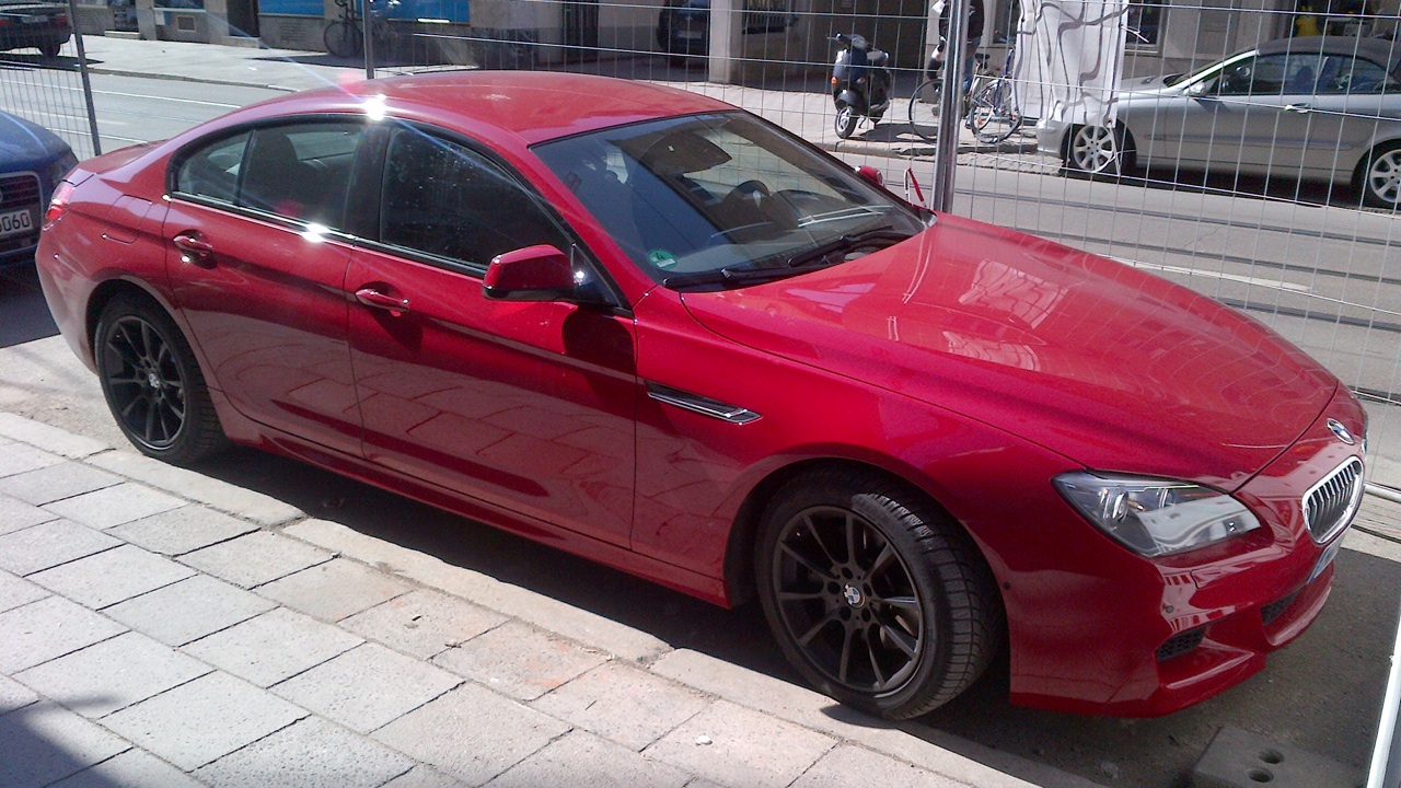 First Sight of Production 6 Series Gran Coupe M Sport in Imola Red