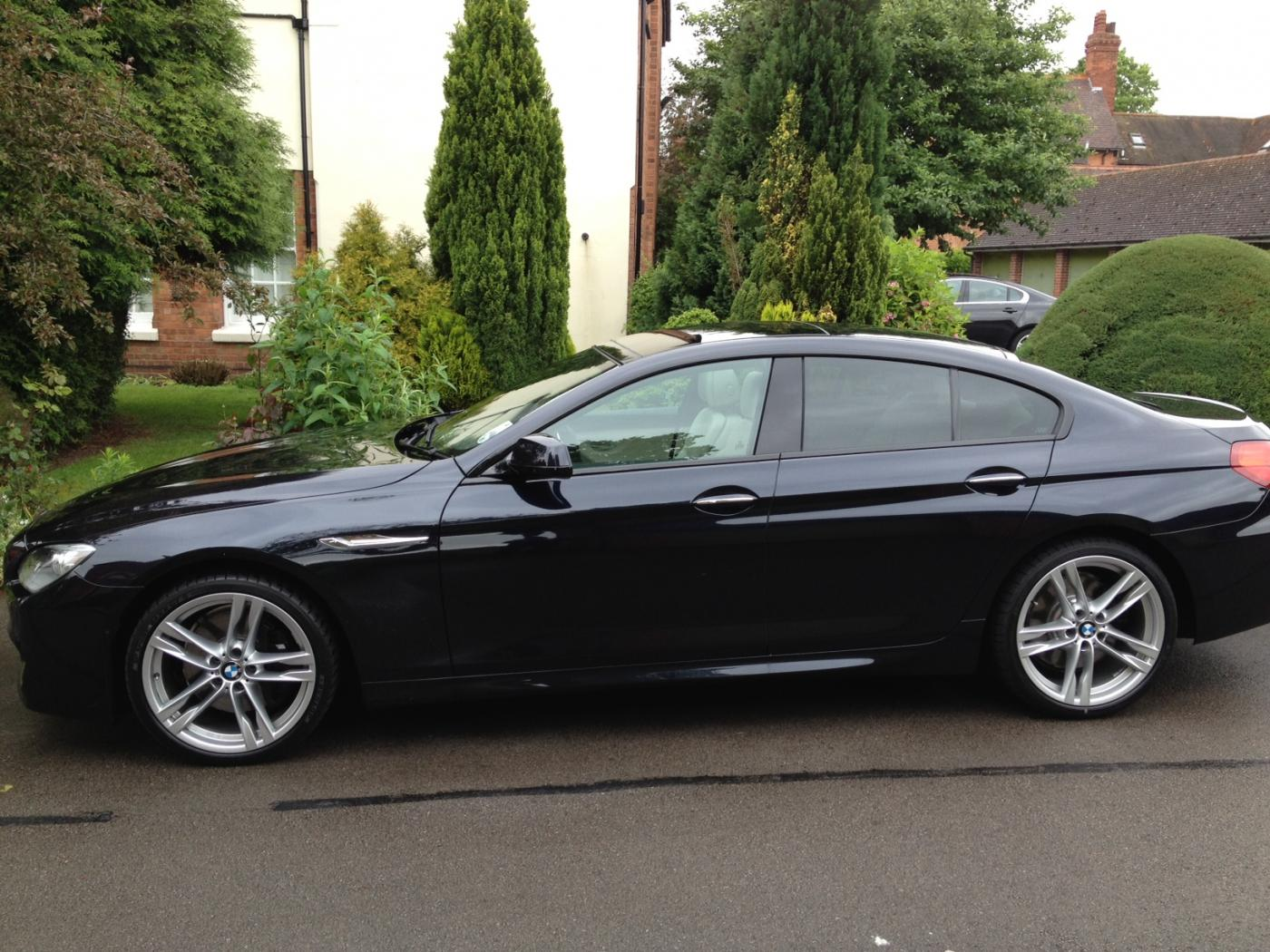 Carbon Black 640d Gran Coupe M Sport