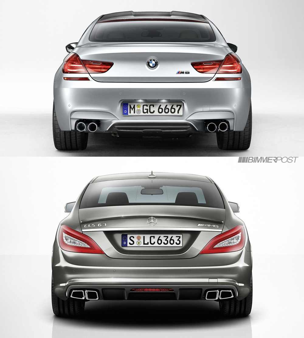 Bmw M6 Gran Coupe Vs Mercedes Cls63 Amg Matchup