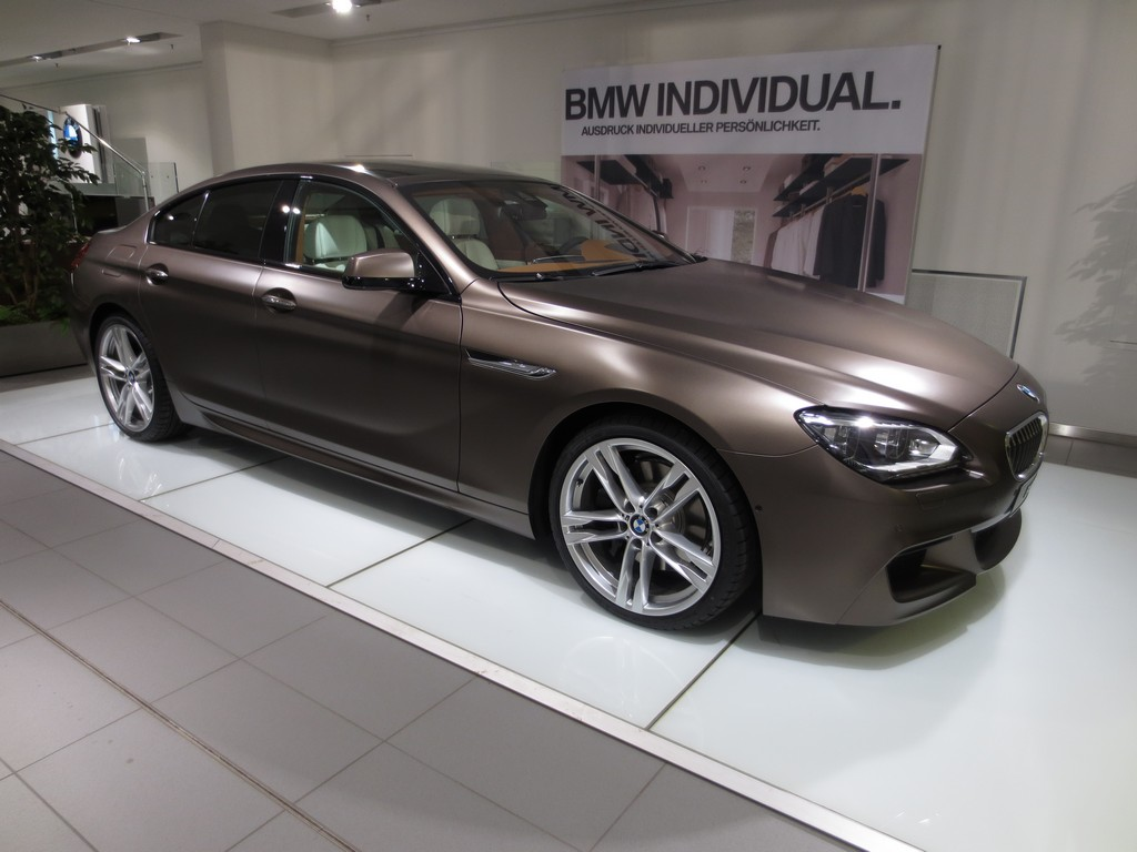 Individual M6 6 Series Gran Coupe Frozen Red Frozen
