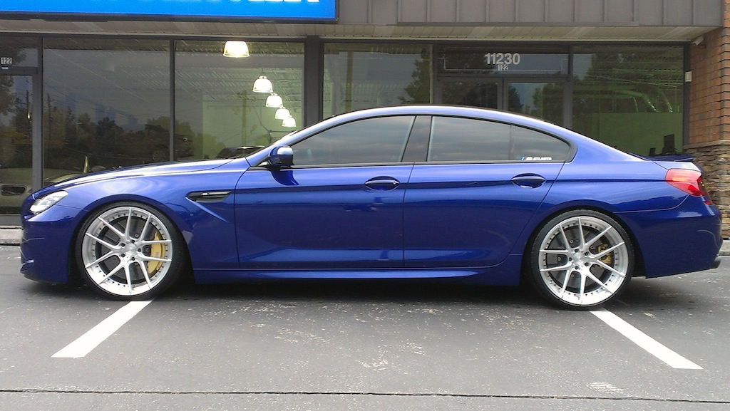 Got My Superman Combo M6 Gran Coupe21 Wheelspics