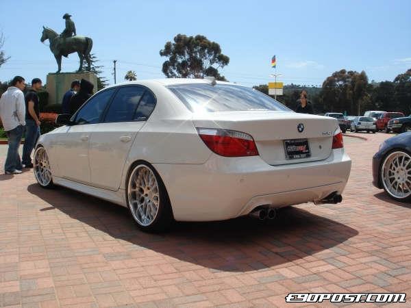 7K\'Rev\'s 2005 BMW 545i E60 - BIMMERPOST Garage