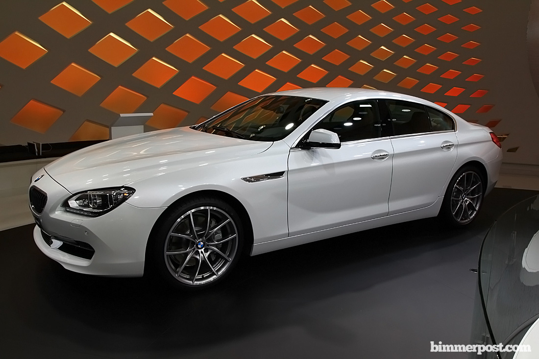2012 geneva 6 series gran coupe in alpine white