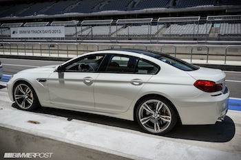 Bmw 6 Series White Gran Coupe