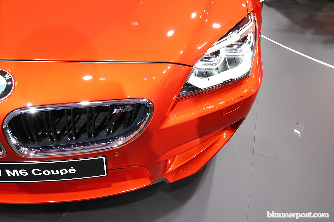 2012 Geneva Bmw M6 Coupe F13 World Premiere